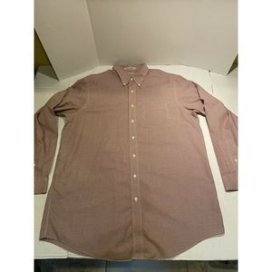 LL Bean Sz L wrinkle resistant shirt